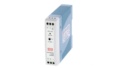 DIN Rail Power Supply, 24V, 1A, 24W, Adjustable Buy {0}