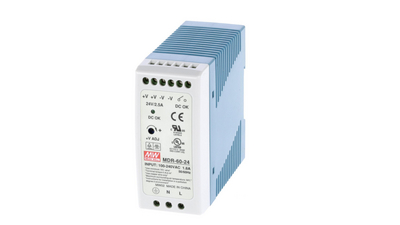 DIN Rail Power Supply, 24V, 2.5A, 60W, Adjustable Buy {0}