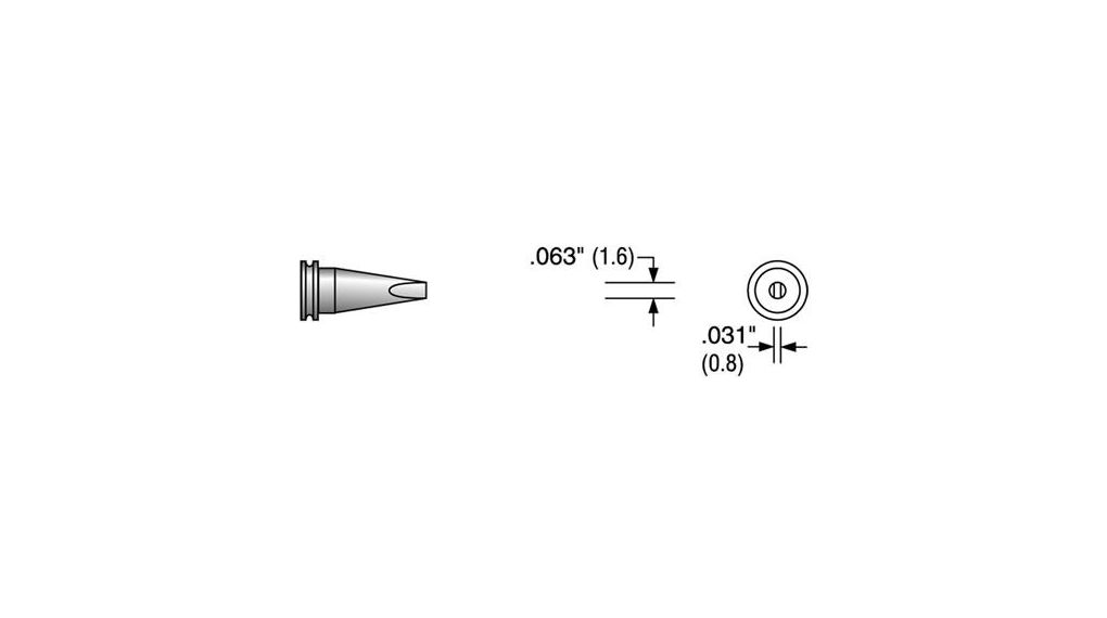 Buy Soldering Tip Chisel 1.6 mm