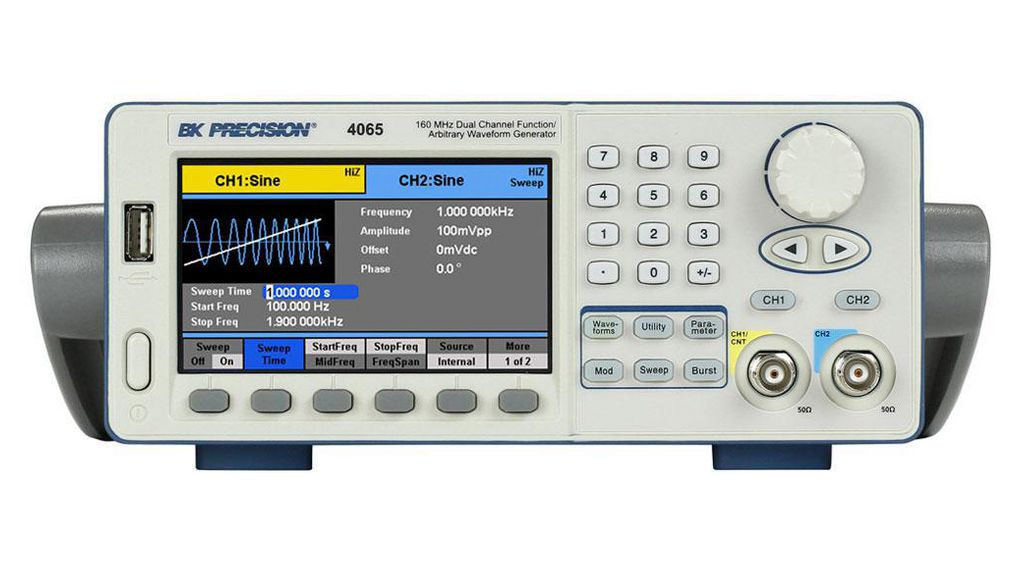 Buy Dual Channel Function / Arbitrary Waveform Generator 2x 80MHz