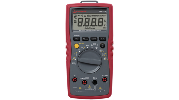 Buy Multimeter digital RMS 3999 Digits 600 VAC 600 VDC 10 ADC