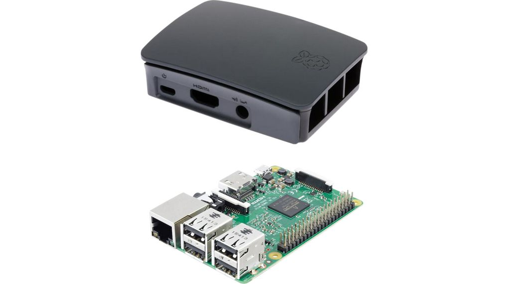 Buy Raspberry Pi 3 Model B with Case