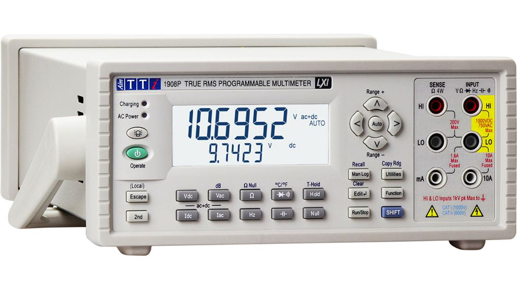 Buy Multimeter benchtop TRMS AC+DC 1000 VDC USB 2.0