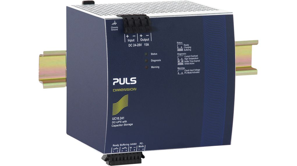 Köp Diagnosmodul Industrial Power Supplies 124 mm Montering på DIN-skena