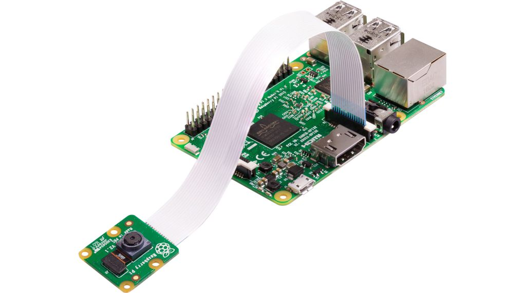 Raspberry Pi 3 Model B with Camera V2.1 8MP