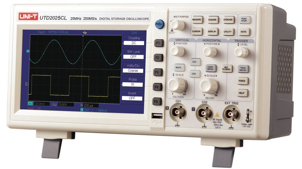 Buy Oscilloscope 2x 25MHz 0.25GSPS