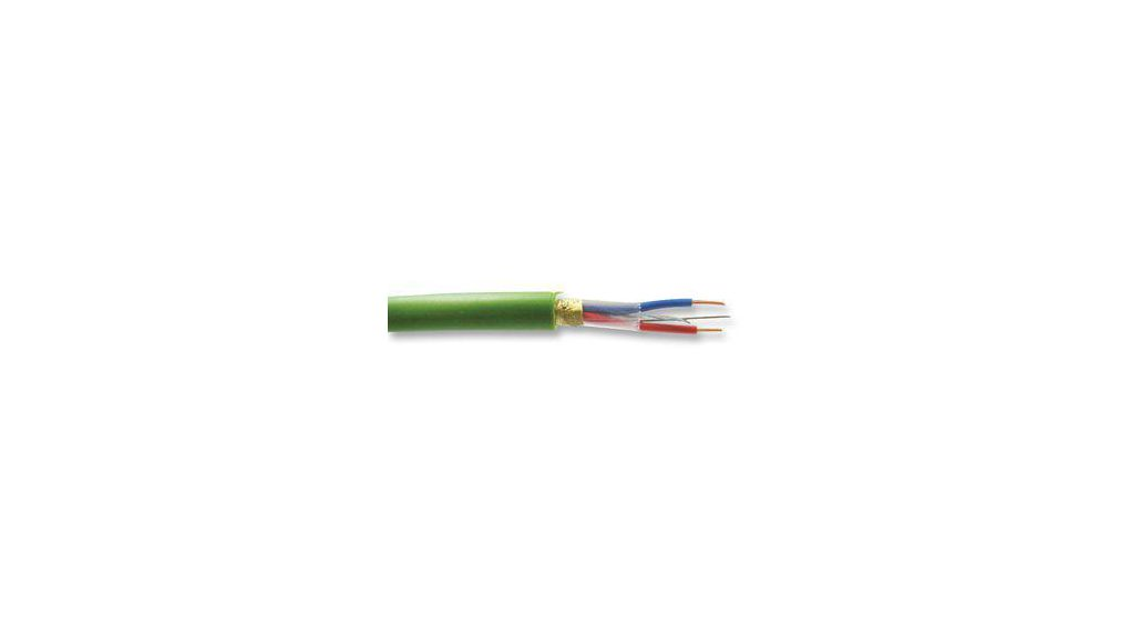 YE0090500100 Data cable Shielded 1 x 2 x052 mm² Stranded TinPlated ...