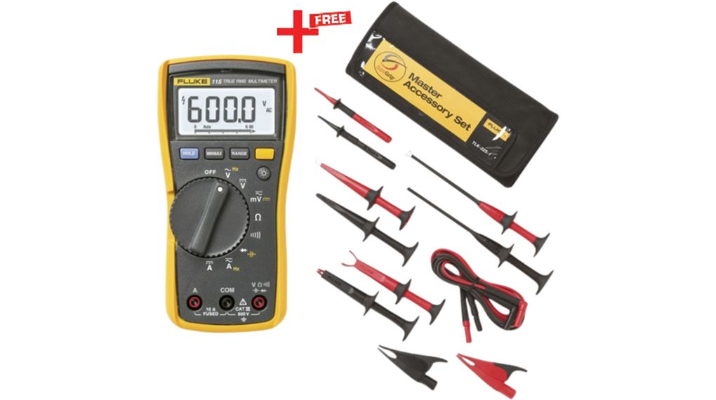 Köp Multimeter digital TRMS AC 600 VAC