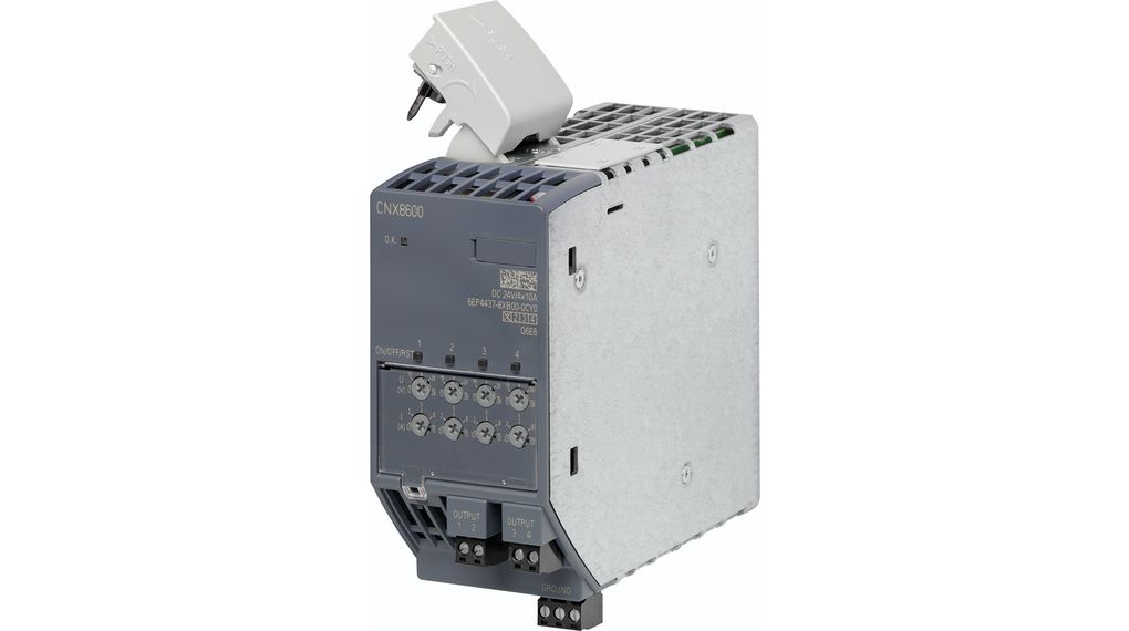 Buy Extension Module, CNX8600 4x10 A for PSU8600, Adjustable, 24 V / 10 A, 960 W, SITOP CNX8600