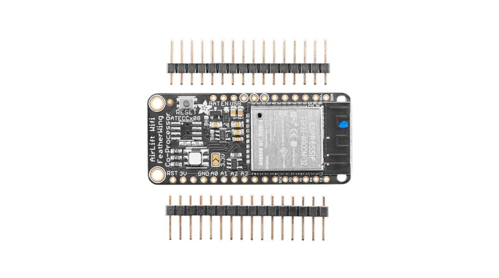 AirLift FeatherWing with ESP32 WiFi Co-Processor