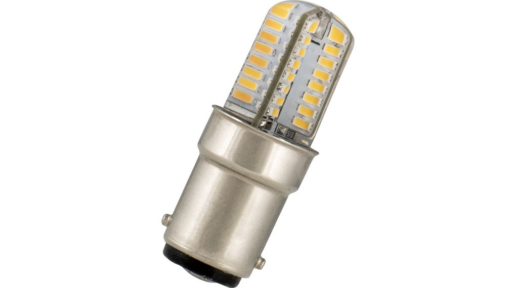 80100040586 LED lampa 2W 230V 3000K 190lm BA15d 45mm Bailey