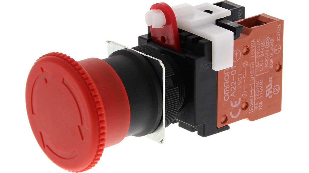 Buy Emergency Stop Switch 1NC IP65