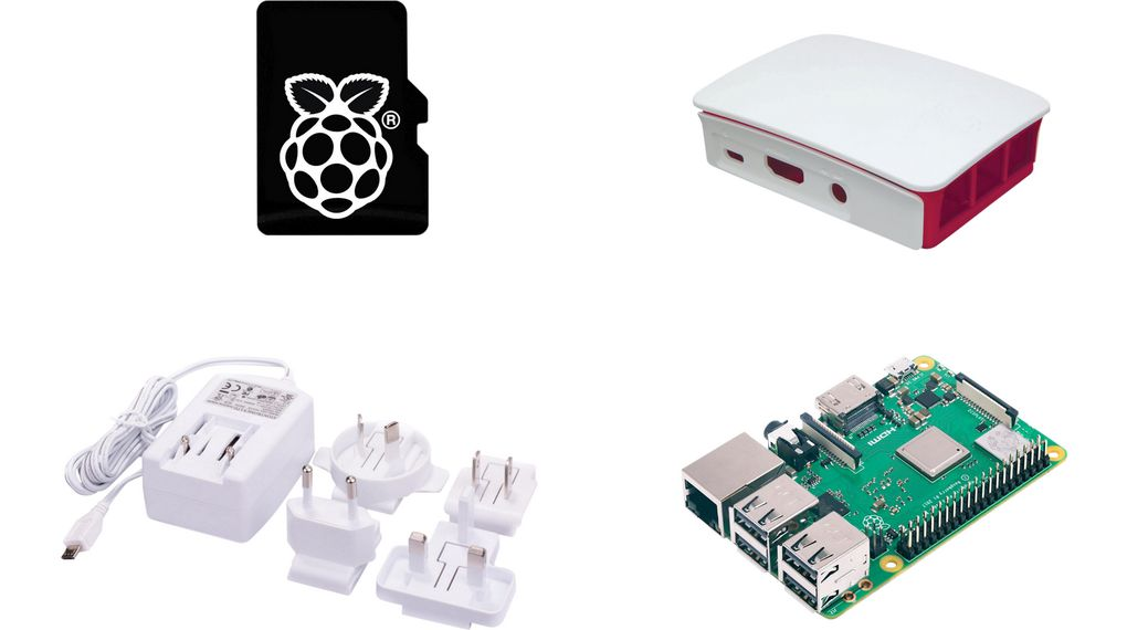 Buy Raspberry Pi 3 Model B+ PiOS, Case, PSU