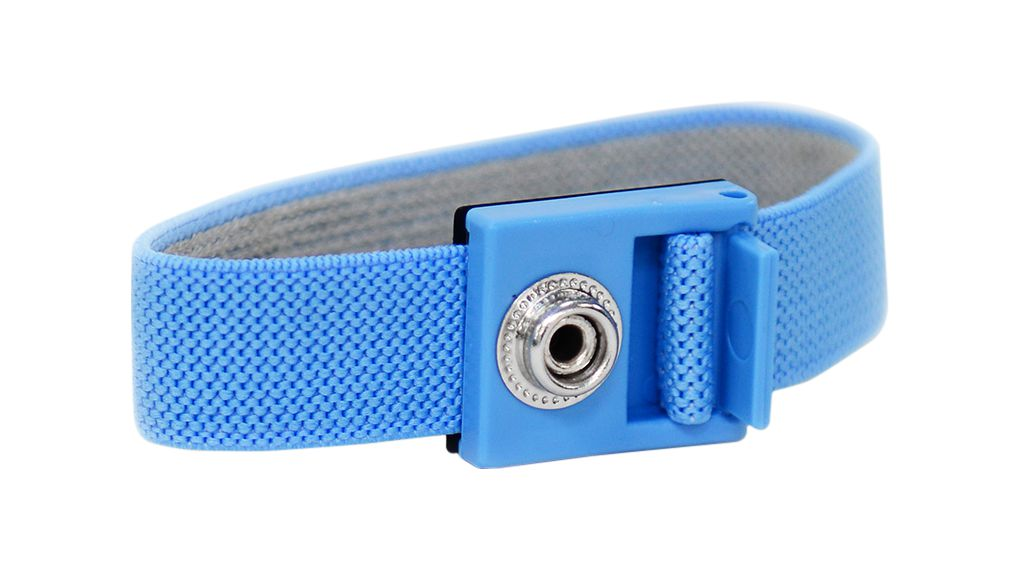 Buy Antistatic Adjustable Hypoallergenic Wrist Strap 4mm Blue