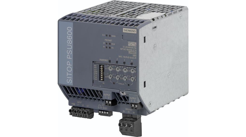 Switched-Mode Power Supply Adjustable 24V 10A 960W