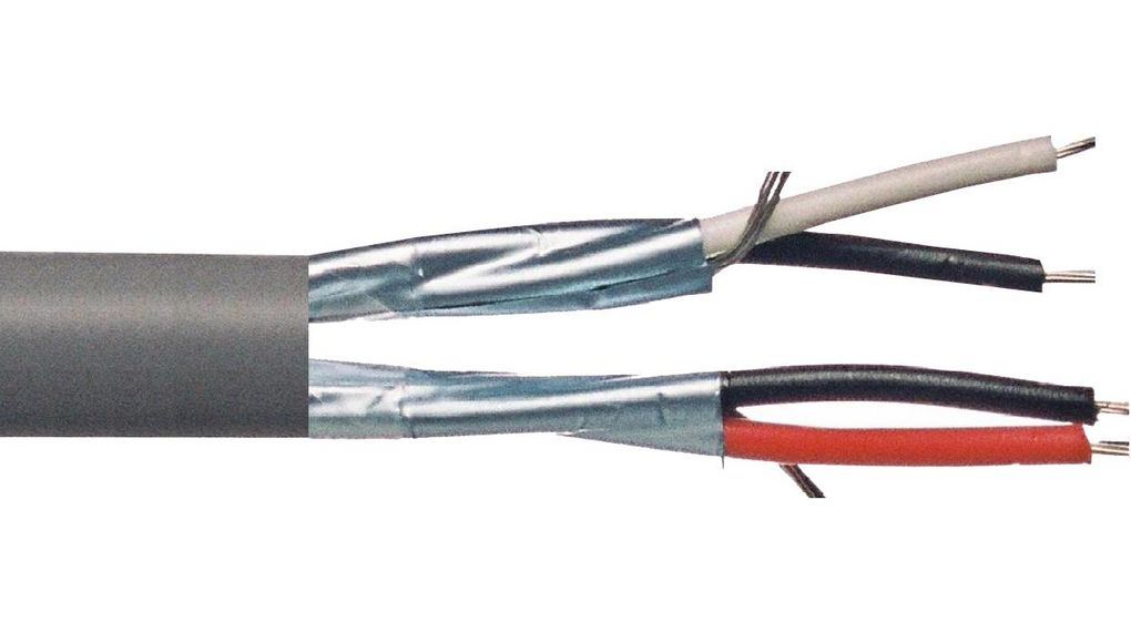 9729 | Buy Data cable Shielded 2 x 2 0.2 mm² | Belden