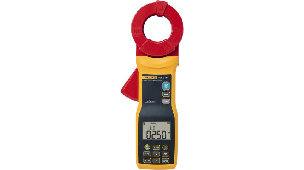 Fluke 1630-2 FC Stakeless Earth Ground Clamp Meter with Fluke Connect TRMS  AC