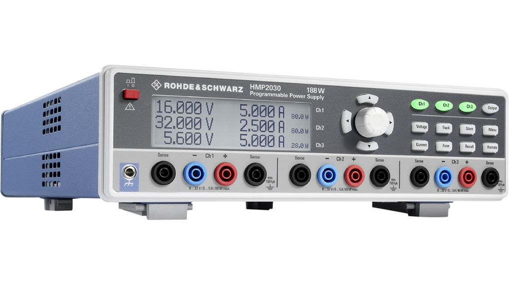 Buy Bench Top Power Supply, Number of Outputs=3, 188 W, Voltage Max. 32 V, Current Max. 5 A, Programmable