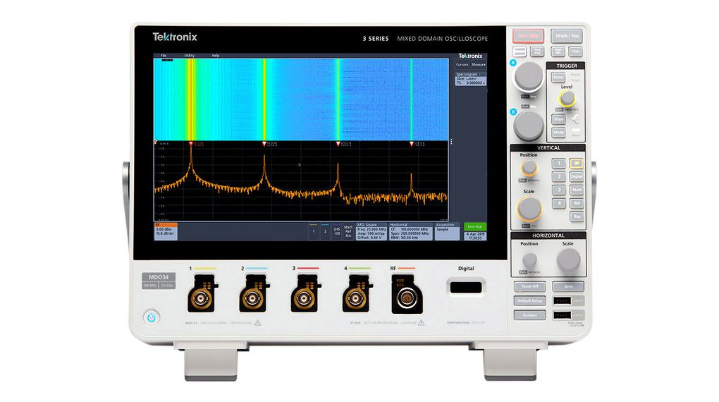 Buy Mixed Domain Oscilloscope, 2x 350MHz, 2.5GSPS