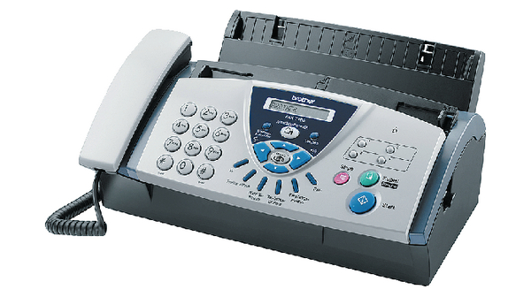 fax t106 fax with telephone and answer machine brother
