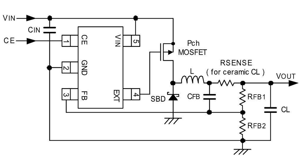 Switching controller IC SOT-25