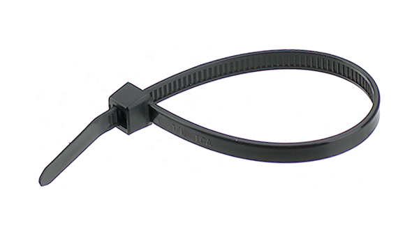 Buy Cable Tie 4.8 mm 300 mm Black Pack of 100 pieces
