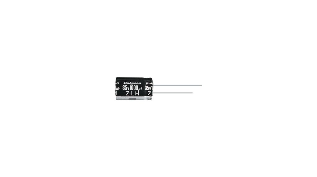 Buy Radial Electrolytic Capacitor 470 uF 35 VDC +105 °C