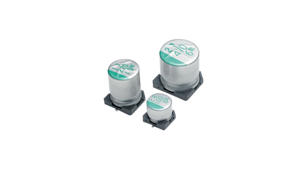 Buy SMD Electrolytic Capacitor 100 uF 16 VDC
