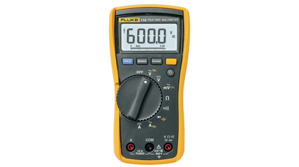 Köp Fluke 115 sann RMS digital multimeter, CAT III 600 V, 600V, 50kHz, 40MOhm