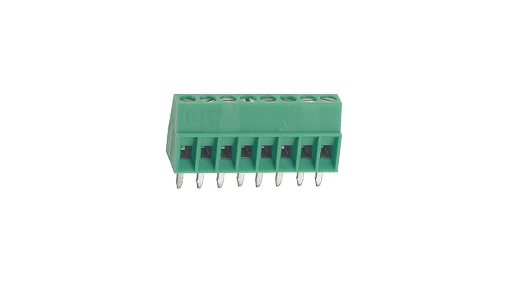 Buy Wire-To-Board Terminal Block 0.14...0.5 mm² solid or stranded 2.54 mm, 4 Poles