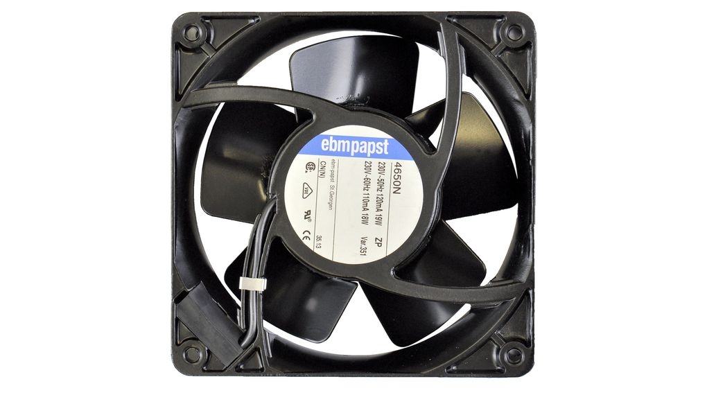 Buy Axial Fan AC 119x119x38mm 230V 160m³/h IP20