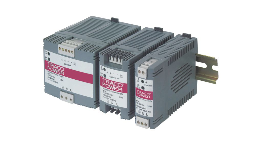Buy DIN Rail Power Supply, Adjustable, 12V, 4A, 60W