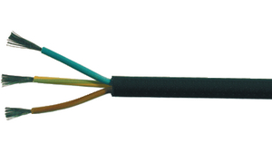 Buy Mains cable 3 x1.00 mm² Bare Copper Stranded Wire Unshielded ...