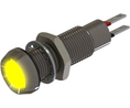 Buy LED Indicator Yellow 8.1mm 28V 20mA