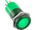 Buy LED Indicator Green 22 mm 24 V