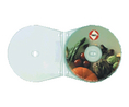 Buy CD plastic sleeves with binder punching 10Stk.,transparent