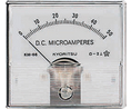 Buy Analogue Panel Meter DC: 0 ... 15 A 60x66mm
