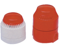 Buy Combination Alarm, Flat Bottom Part 103 dB Red 28 VDC