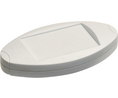 Buy Hand casing 124.2x66.3x23mm White ABS IP40
