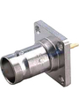 Panel-mount female receptacle BNC 50 Ohm straight Buy {0}