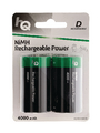 NiMH rechargeable battery 1.2 V 4000 mAh PU=Pack of 2 pieces Buy {0}