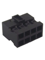 Socket housing, Minitek 2x4-pin 2 mm Poles 8 Double Row Buy {0}