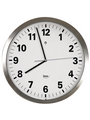 Radio controlled wall clock Stainless Steel Buy {0}
