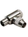 Coaxial bent plug, completely screened as per BTZ1R8.15 Buy {0}