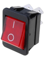 Rocker switchP 16 A 250 VAC Red Buy {0}