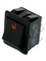 Rocker SwitchP 16 A 250 VAC Black Buy {0}