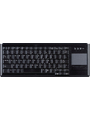 Keyboard with touchpad US PS/2 black Buy {0}