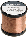Enamelled copper stranded wire PUR 0.24 mm² Buy {0}