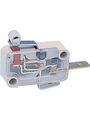 Micro switch 10 A Roller Lever 1 Break Contact (NC) Buy {0}