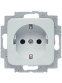 Safety socket 54 x 54 x 27 mm 16 A F (CEE 7/3) White Buy {0}